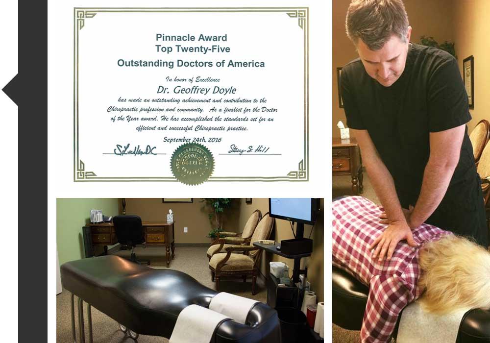 Chiropractor Huntersville NC Geoffrey Doyle